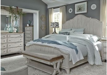 652PN / Panel Bedroom Set (Q)
